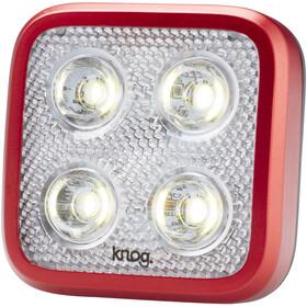 Knog Blinder MOB Four Eyes Headlight white LED, red